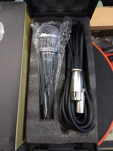 micrófono stagg dinámico cardioide con cable sdmp50