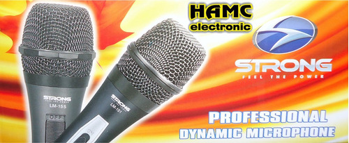 microfono strong lm-151 professional