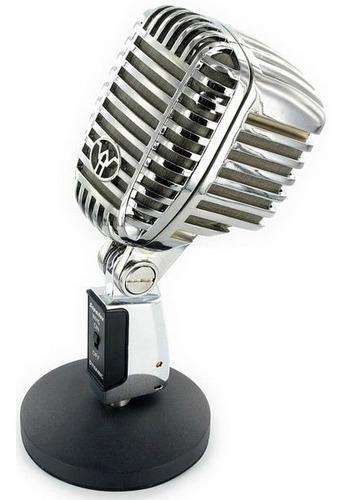 microfono superlux wh-5 dinamico supercardioide vintage