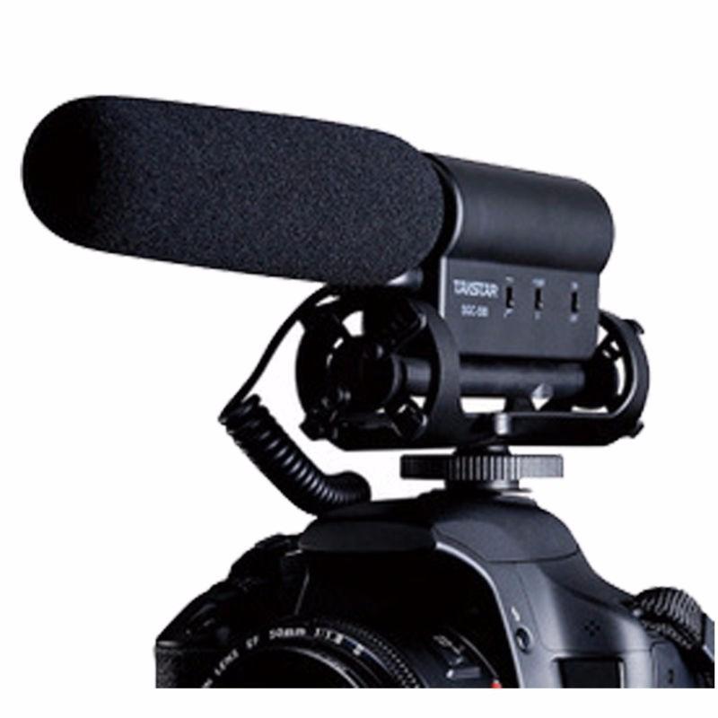 micrófono takstar sgc-598 para cámaras dslr canon nikon