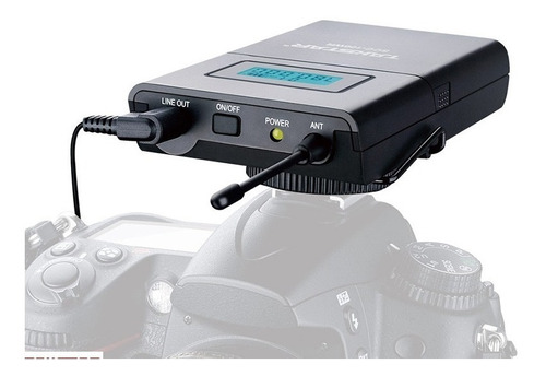 microfono takstar sgc100w video camara dslr canon sony nikon