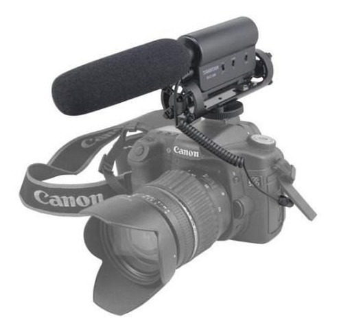 micrófono takstar sgc598 video camara dslr canon sony nikon