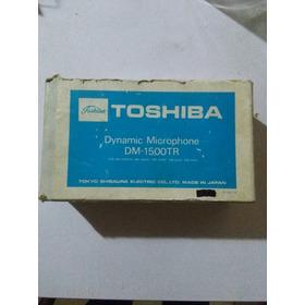 Microfono Toshiba Dm 1500 Tr