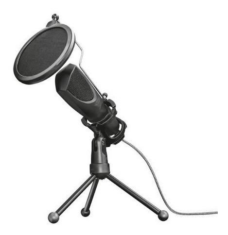 microfono trust gxt 232 mantis streaming usb con tripode