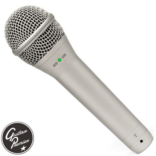 microfono usb profesional samson q1u +pipeta +tripode +cable