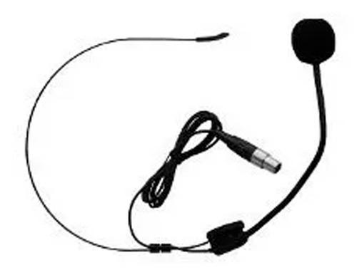 microfono vincha mini canon plug para inalambrico uhf vhf