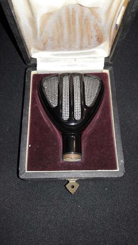 micrófono  vintage tesla cobra / 1950s de colección