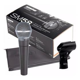 Micrófono Vocal Dinámico De Mano Shure Sm58-lc