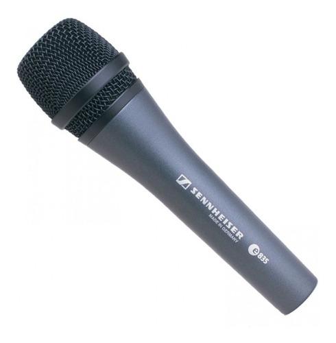 micrófono vocal sennheiser e835 - hecho en alemania