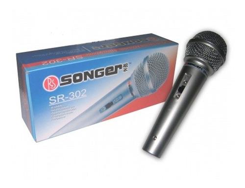microfono xtreme omnidireccional de condensador sr-302