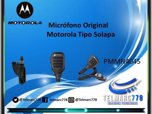 micrófono xts1500 xts2250 tipo parlante original motorola