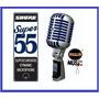 Legendario Micrófono Shure Super 55 Clasico Vintage