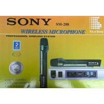 Microfonos Inlambricos Sony Sm 288 Tipo Bala Corbata