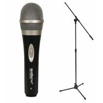 Microfono Dinamico Profesional +combo: Paral+estuche+cable4m