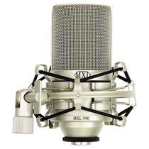 Microfono Condensador Profesional Mxl 990 Con Arana