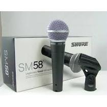 Micrófono Profesional Marca Shure Nuevo En Su Caja Mod. Sm58