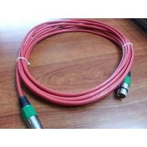 Cable De Microfono Canon 3mts