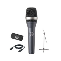 Paral, Microfono, Clamp, Cartuchera Y Cable Akg D5 Stagepack