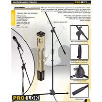 Paral De Micrófono Trípode Con Boom/ Pmb850 Pro-lok Original