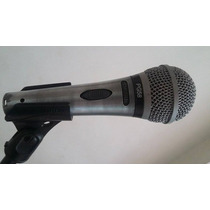 Microfono Shure Pg58 + Clip + Paral Poco Uso