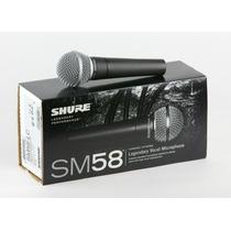 Microfono Shure Mod Sm58 Nuevo Con Garantia
