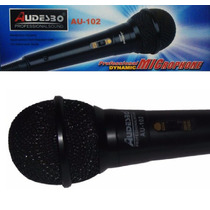 Microfono Profesional Audesbo Alambrico, Cable 2 Metros