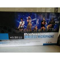 Microfono Inalambrico Audesbo Profesionales
