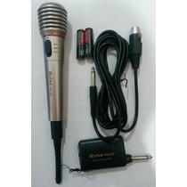 Micrófono Profesional Inalambrico Oferta