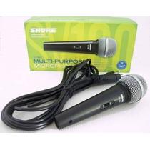 Micrófono Shure Sv100 Original Alambrico Profesional D-carlo
