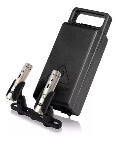 microfonos behringer c2 pack x 2 micrófonos condenser