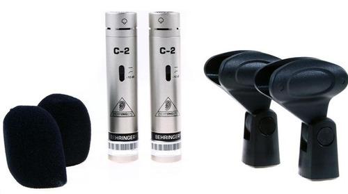 par de microfonos de condensador behringer c2 1 en mercado libre. Black Bedroom Furniture Sets. Home Design Ideas