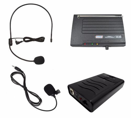 microfonos inalambricos diadema solapa alcance 50m vhf 948