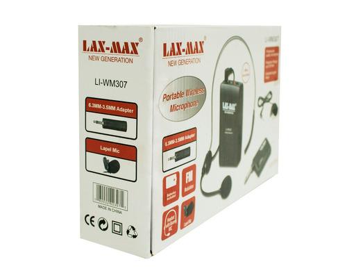 micrófonos inalámbricos perifoneo diadema y solapa li-wm307
