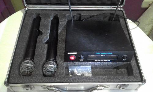 microfonos inalambricos shure