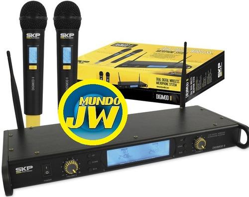 microfonos inalambricos skp digimod 2 de mano uhf digital