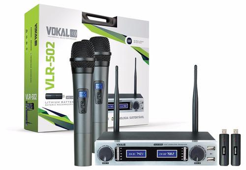 microfonos inalambricos vokal diadema y doble mano uhf
