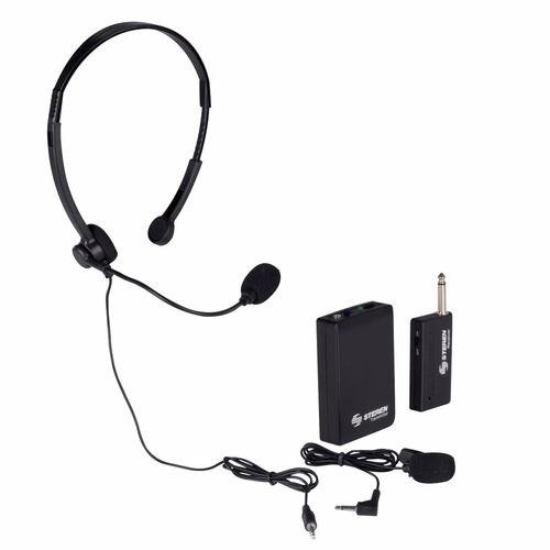micrófonos inalambricos y diadema, sonidos