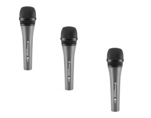 micrófonosennheiser e835 - paquete de 3