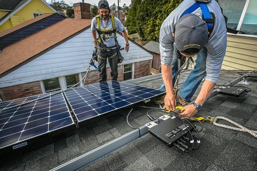 microinversor de 600w, para 2 paneles solares cfe msi