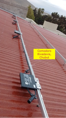 microinversor solar on-grid marca apsystems 500wac pot.nom