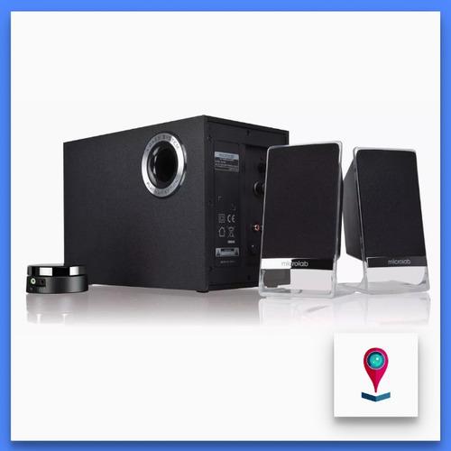 microlab m200bt sistema de sonido 2.1 bluetooth ncf 50w rms