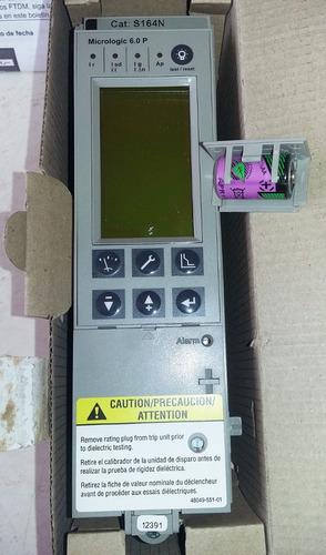 micrologic  6.0p unidad de disparo square d, s164 n