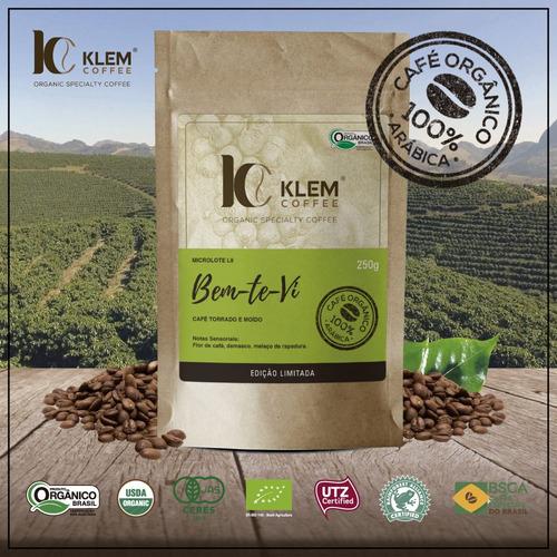 microlote bem-te-vi.87 pts sca.klem coffee orgânico especial