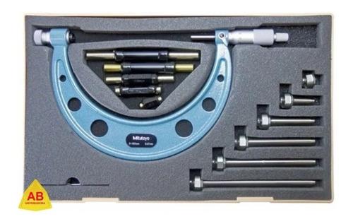micrometro 0 150 mm punta intercambiables mitutoyo 104-135a