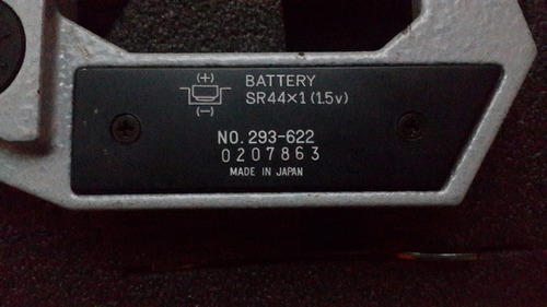 micrometro digital mitutoyo 25-50mm japon