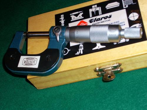 micrometro mauser juniors de 0-25 mm , nuevo 0,01 mm
