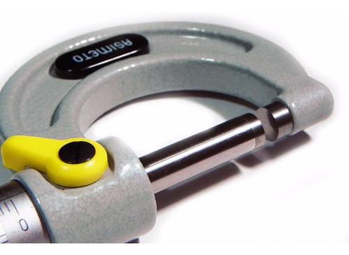 micrometro mecanico 75-100mm asimeto 0.01mm 101-04-0