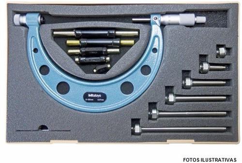 micrómetro mecánico ext. mitutoyo 0 150 mm 0,01 mm 104-135a