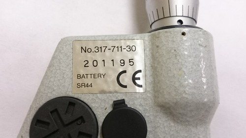 micrómetro mitutoyo un-imike 317-711-30, 0-1