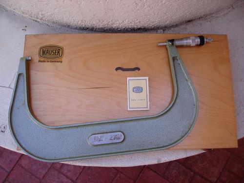 micrometro para exterior  mauser  de 250-275mm